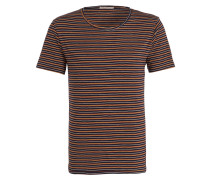 T-Shirt OVE - navy/ rot/ gelb