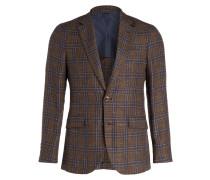 Tweed-Sakko Slim-Fit