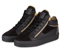Hightop-Sneaker KIRK - schwarz