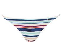 Bikini-Hose - weiss/ rot/ blau gestreift