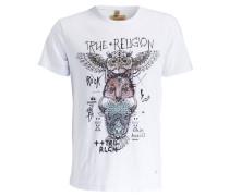 T-Shirt - weiss/ schwarz/ rosé