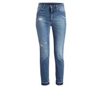 7/8-Jeans - blau denim