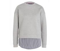 Sweatshirt  im Layer-Optik