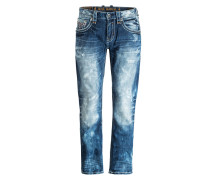 Destroyed-Jeans FLANN Straight-Fit