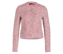 Tweed-Blazer ASHANI - rosa/ ecru