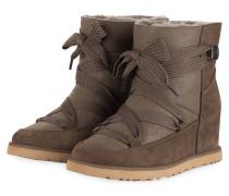 Boots CLASSIC FEMME LACE-UP - DUNKELBRAUN