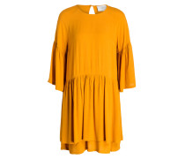 Kleid GARNER - dunkelgelb