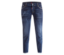 Cropped-Jeans TWIGGY - medium blue