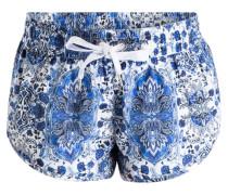Boardshorts MANDALA - weiss/ blau