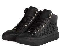 Hightop-Sneaker ARGYLE - schwarz