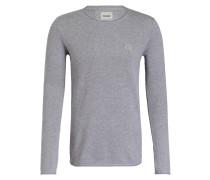Pullover BASAL - grau meliert