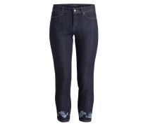 7/8-Jeans PIERA - luxury rinsed blau
