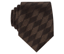 Krawatte im Schurwoll-Seiden-Mix