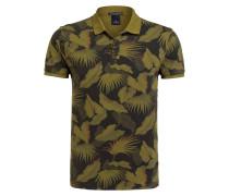Piqué-Poloshirt - oliv/ khaki