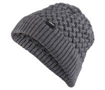 Grobstrick-Mütze LIAM - grau
