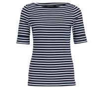 T-Shirt JUDY - navy/ weiss gestreift
