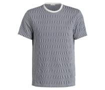 T-Shirt JACK JACQUARD - blau