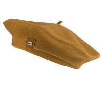 Baskenmütze FLORA - ocker