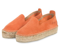 Plateau-Espadrilles HAMPTONS - ORANGE