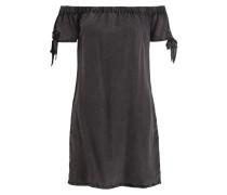 Off-Shoulder-Kleid ALEXIA - dunkelgrau