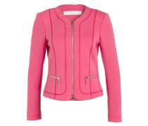 Sweat-Blazer - pink