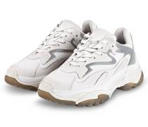 Plateau-Sneaker ADDICT - WEISS