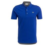 Piqué-Poloshirt - royalblau