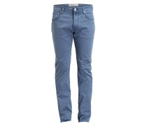 Hose PW688 Comfort-Slim-Fit - blau