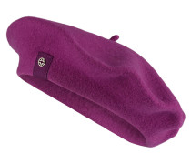 Baskenmütze FLORA - violett
