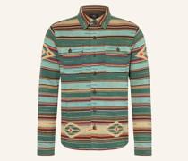 Strick-Overshirt