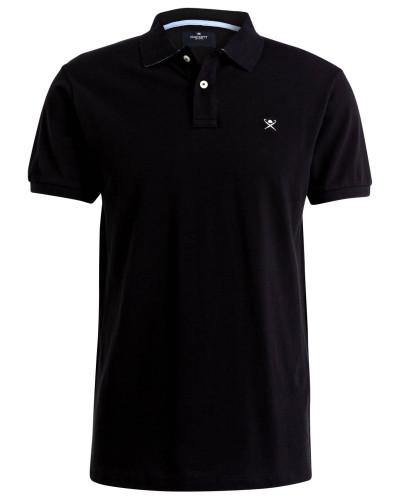Piqué-Poloshirt Classic-Fit - schwarz