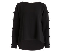 Oversized-Bluse - schwarz