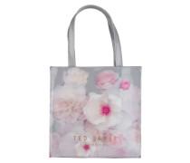 Shopper CERYCON - hellgrau/ rosa