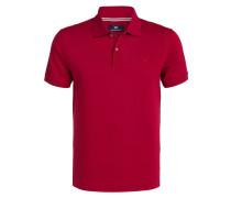 Piqué-Poloshirt - dunkelrot