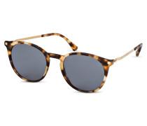 Sonnenbrille KEELUT - havana/ dunkelblau