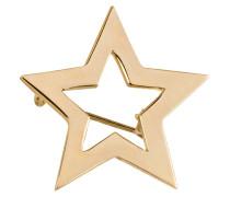 Brosche STAR - gold