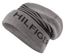 Mütze - grau/ dunkelgrau