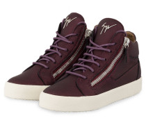 Hightop-Sneaker BAMBY - BORDEAUX