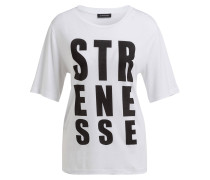 T-Shirt TARYN - weiss/ schwarz