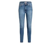 7/8-Skinny Jeans SYLVIA mit Schmucksteinbesatz