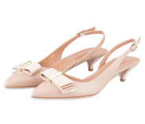 Slingpumps WAVE - puder
