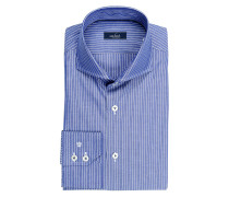 Hemd RESO Slim-Fit - blau/ weiss gestreift