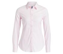 Bluse - rosa/ weiss gestreift