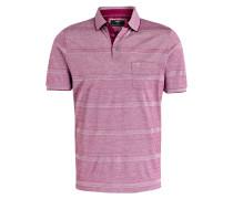 Piqué-Poloshirt Casual-Fit - pink