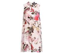 Kleid - rosa/ pink/ dunkelgrün