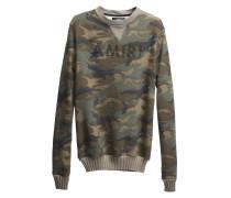 Sweatshirt in Destroyed-Optik