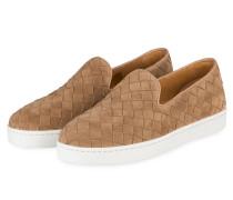Slip-on-Sneaker - camel