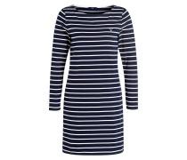 Kleid - dunkelblau/ weiss gestreift