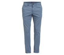 Chino MANA Slim-Fit - blau