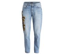 Mom-Jeans RECCO - blau